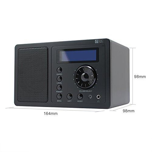 ocean digital internet radio wr220 wifi wlan receiver tuner wireless connection music media. Black Bedroom Furniture Sets. Home Design Ideas