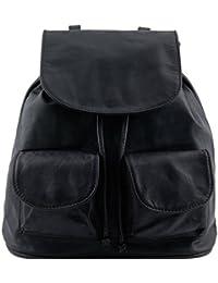 81415084 - TUSCANY LEATHER: SEOUL - Sac à dos en cuir - Petit modèle, noir