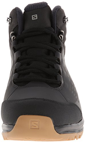 Salomon  Kaïpo CS WP, Chaussures de trekking et randonnée homme Noir - Schwarz (Black/Asphalt/Titanium)