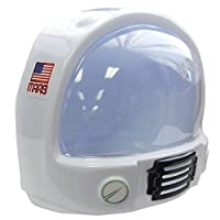 Jacobson Hat Company Adult Toy Space Helmet Nasa Astronaut Hat Mask Plastic Costume Accessory
