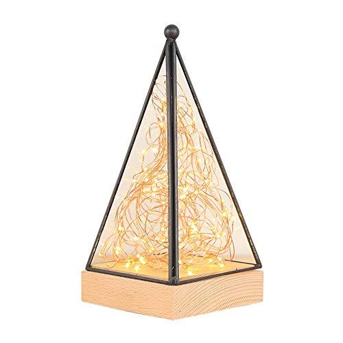 Romantic creativity table lampada cuore della ragazza regalo di compleanno camera da letto comodino lampada da tavolo decorazione notte lampada