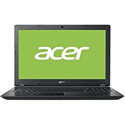 "Acer Aspire A315-31-C873 - Ordenador Portátil de 15.6"" HD (Intel Celeron N3350, 4 GB RAM, 1 TB HDD, Intel HD Graphics, Windows 10); Negro - Teclado QWERTY Español"
