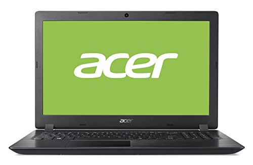 "Acer Aspire 3 | A315-51-38LS - Ordenador portátil 15.6"" HD LED (Intel Core i3-7020U, 4 GB de RAM, 128 GB SSD, Intel Graphics, Windows 10 Home) Negro - Teclado QWERTY Español"