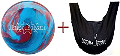 'Bowlingball–Principiantes y räum Ball probowl Blue/Blue/Red 8Lbs hasta 15Lbs + See Saw Saco de balón para limpiar