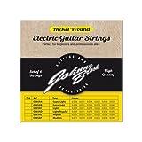 Johnny Brook - Lot de 6 Cordes de Guitare Electriques Haute Qualité en Nickel (Calibre Super Fin)