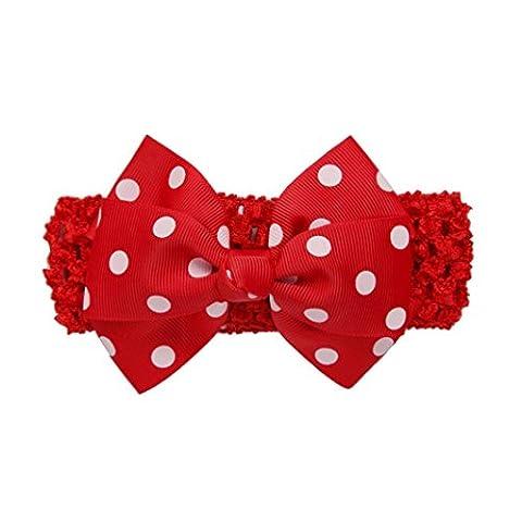 Stirnbänder Longra Mädchen die Vergoldung Stirnbänder Bowknot Haarschmuck für Mädchen
