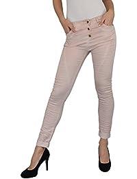 S&LU top angesagte Damen Jeans im Boyfriend- Style S-XXL (2XL) tolle Farbauswahl