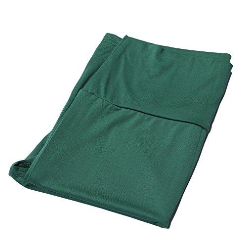 EOZY 1Pc Jupe Longue Femme taille:Haute Élastique Fendue Près Du Corps Vert