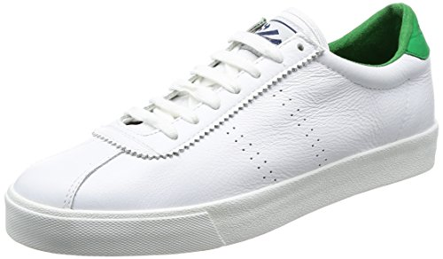 islanda Superga 2843 Bianco Bianco Comfleau Bassi verde Femme qfTxwXf4B