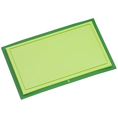 WMF Touch Schneidebrett Tranchierbrett grün 32 x 20 cm rechteckig  Kunsstoff Saftrillen...