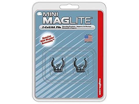 MAGLITE - CROCHETS DE FIXATION POUR MINI R6/MINI 2AA/LED PRO+/LED PRO - 2 PCS