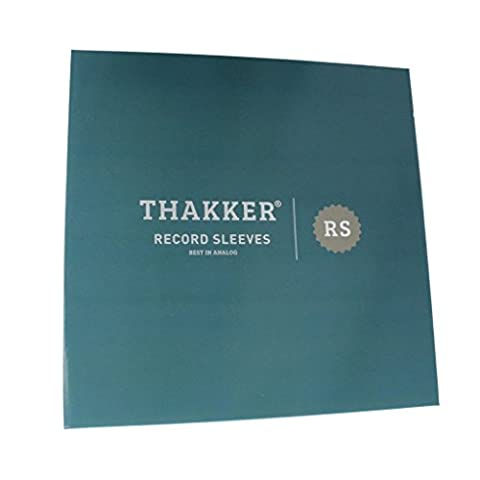 Thakker LP Record sleeves Pochettes de protection pour vinyles 100 pièces