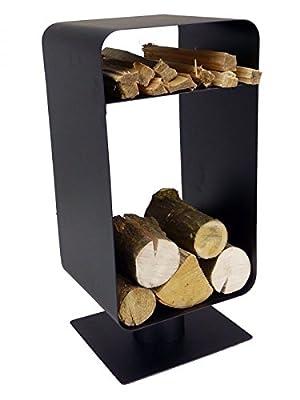 Galleon Fireplaces Log and Kindling Holder - Fireside Wood Holder - Fireplaces Accessories Log Holder