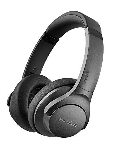 Soundcore Life 2 Bluetooth Kopfhörer von Anker, Active Noise Cancelling Kopfhörer Kabellos Over Ear Headset mit Hi-Res Audio Qualität und Mikrofon mit CVC Geräuschisolierung [Bis zu 60 Std]