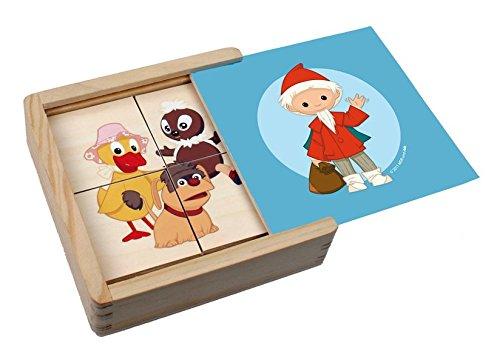 Edition A.Trötsch 48439 - Erster Puzzlespaß Unser Sandmännchen und seine Freunde