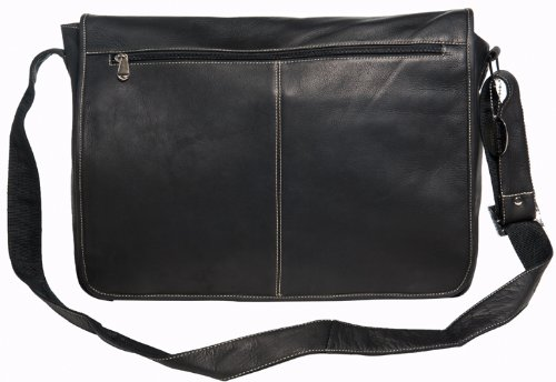 david-king-co-deluxe-east-west-full-flap-messenger-black-one-size