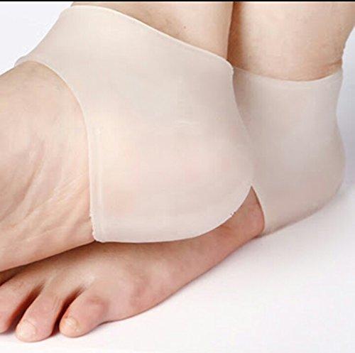 SPARSH 4.0 Gel Slip-on Socks for Both Legs for Cracked Heels
