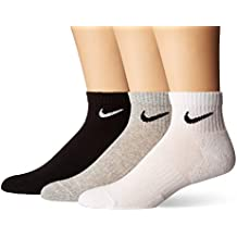 Nike U Nk Everyday Cush QTR 3pr Socks Hombre