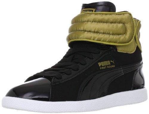 Puma First Round Shimmy Jr Mädchen Sneaker Schwarz - Noir (01)