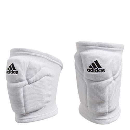 adidas Damen Volleyball Elite Knie Pad, Damen, weiß/schwarz (Weiße Knie-pads-volleyball)