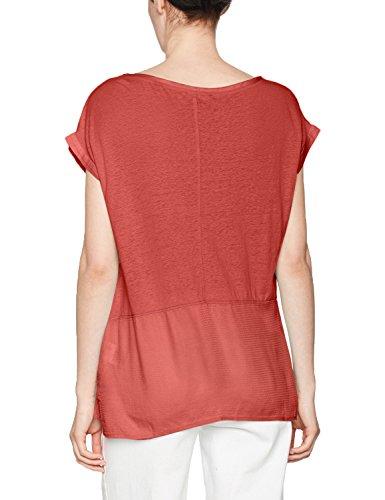s.Oliver Damen T-Shirt Rot (Tandoori Red 3849)