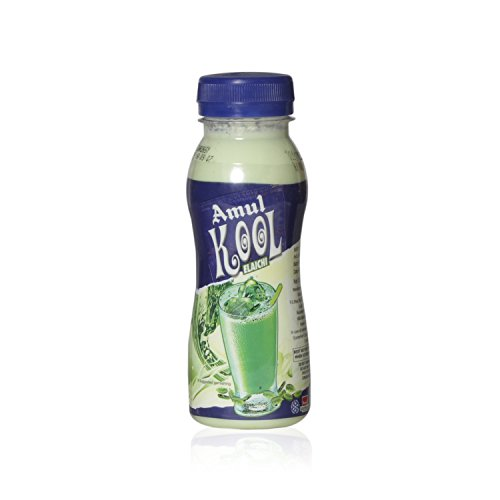 Amul Kool Flavoured Milk – Elaichi, 200ml Bottle