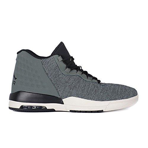 Jordan Schuhe – Academy grau/schwarz/weiß Größe: 43 (Jordan Schuhe Schwarz Und Grau)