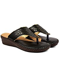 Bare Soles Gold Tinge Doctor Sole Slippers-504