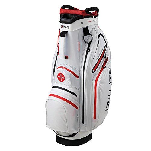 BIG MAX Dri Lite ACTIVE Cartbag Wasserabweisend (White/Red)
