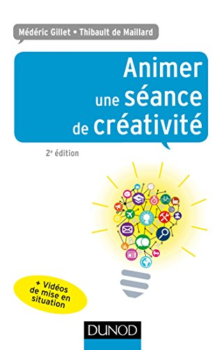 Animer une séance de créativité par Médéric Gillet, Thibault De maillard