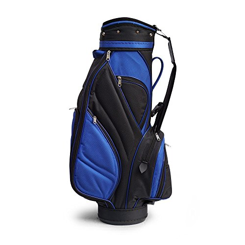 Golfoy Fat Zipperhead 2.0 Golf Cart Bag (Blue/Black)