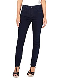 KRISP® Damen High Rise Basic Jeans