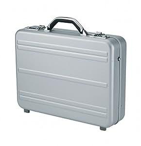 Alumaxx Mercato Notebook briefcase Argent - sacoches d'ordinateurs portables (Notebook briefcase, Argent, Aluminium, 445 x 100 x 325 mm, 460 x 110 x 350 mm)