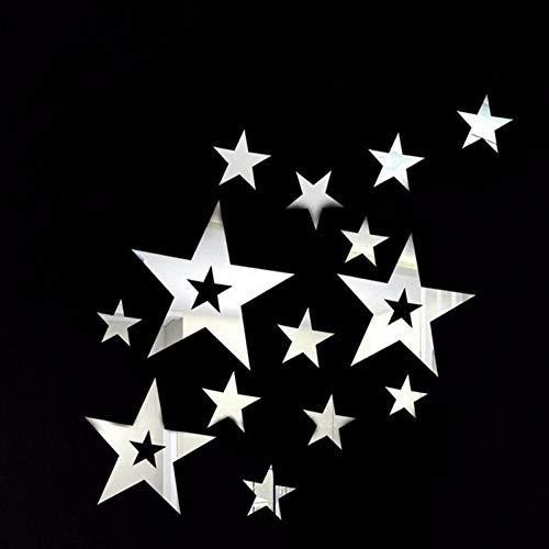 HYLCH Wandaufkleber Großes Mehrteiliges Paket-Neues Begrenztes Verkaufs-Heißes Kugel-Muster-Acryl Für Spiegel-Wand-Aufkleber-Inneneinrichtung