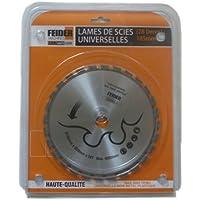 Feider F185LU Disco corte multimaterial silver 185 mm