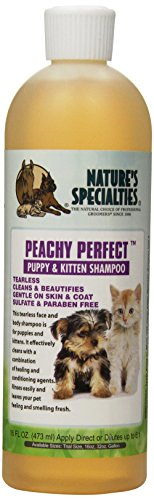 Nature's Specialties Tearless and Body Shampoo for Puppies and Kittens, 16-Ounce by Nature's Specialties