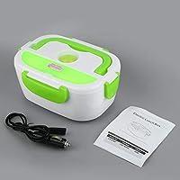 Candybush Calentador eléctrico Multifuncional portátil del Coche Enchufe calefacción Caja de Almuerzo de arroz contenedor de Alimentos Oficina hogar Calentador de Alimentos 12 V