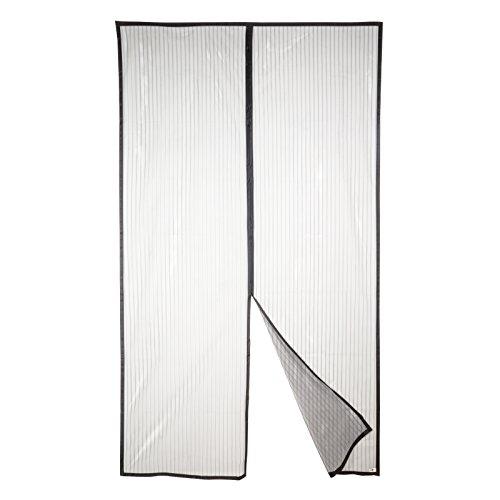 Apalus Magnet Fliegengitter Tür Insektenschutz 140x240cm, Kinderleichte Klebemontage Des Lichtdurchlässigen Magnetvorhang An Der Balkontür Und Schiebetür, Ohne Bohren (Nicht Kürzbar)