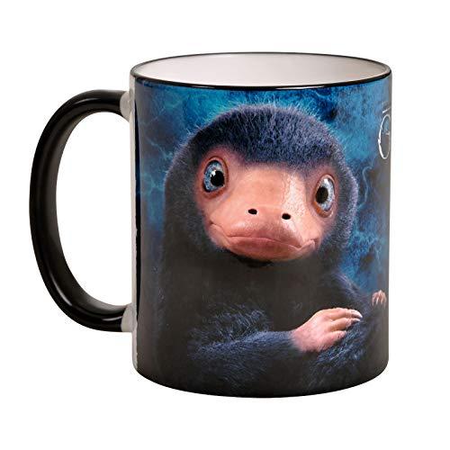 Elbenwald Phantastische Tierwesen Tasse Baby Niffler 320ml Keramik blau Tasse Baby-tassen