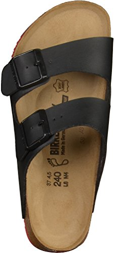 Birkenstock Classic Arizona Birko-Flor Unisex-Erwachsene Pantoletten Black FXbF1MA