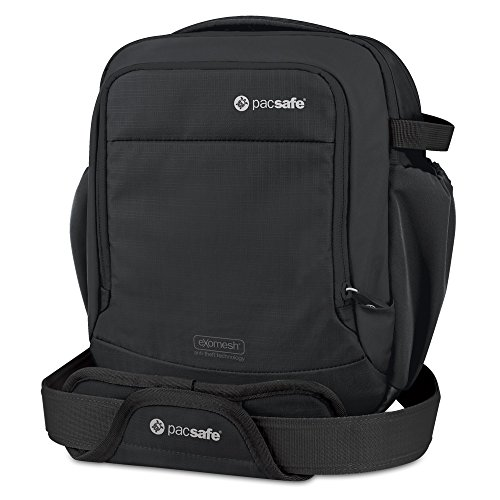Pacsafe Camsafe Venture V8 Anti-Theft Camera Shoulder Bag – Black