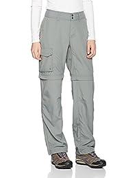 Columbia Silver Ridge Pantalón Desmontable con Protección Solar 50, Mujer, Verde (Sedona Sage), 6