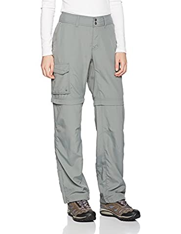 Columbia Silver Ridge Pantalon Convertible Femme, Sedona Sage, FR : 44 (Taille Fabricant : 12)