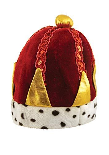 Labreeze Erwachsene Krone Hut Weiser Mann rot Krippe Weihnachten Weihnachten Kostüm (Weiser Mann Kostüm Für Erwachsene)