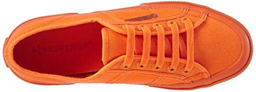 Superga 2750 Cotu Classic, Baskets Basses Mixte Adulte, Bleu Orange (A02)