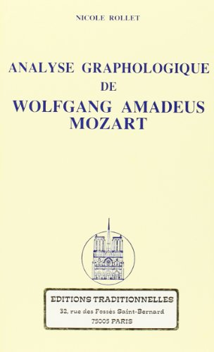 Analyse graphologique de Wolfgang Amadeus Mozart