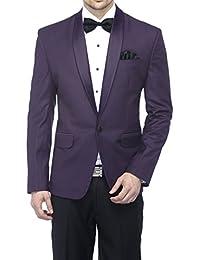 Favoroski Men's English Tuxedo Blazer Shawl Lapel Festive Blazer Casual Evening Blazer Designer Tuxedo