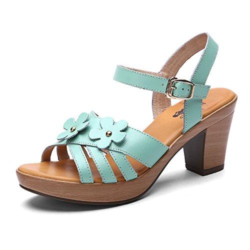 Sandales à talon/Rome sandales bruts C