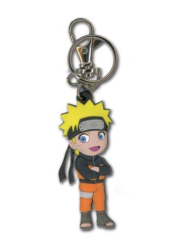 Naruto Shippuden Naruto Chibi Llavero PVC