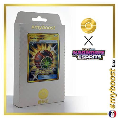 Bombe Géante (Bomba Gigante) 251/236 Entrenadore Secreta - #myboost X Soleil & Lune 11 Harmonie des Esprits - Box de 10 cartas Pokémon Francés